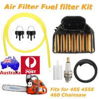 Set  7X Air Fuel Filter Plug Line for Husqvarna 455 455E 460 Rancher Chainsaw AU