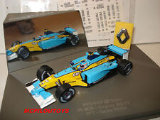 UNIVERSAL HOBBIES RENAULT F1  R23 N°7  TRULLI VERSION PRESENTATION 2003 au 1/43°
