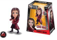 "4"" Marvel Scarlet Witch M164 Jada Die-Cast Metals New rare HTF"
