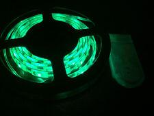 1m long, 60 GREEN LED, CR2032 Battery Powered Waterproof LED Light Strip