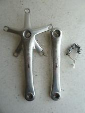 Campagnolo Chorus 9 speed cranks, 172.5, silver aluminum, 1999