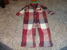 BABY GAP 18-24 RED PLAID OUTFIT SUPER CUTE