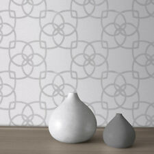 Précieux silks marrakech argent et gris papier peint par Muriva 601536/701369