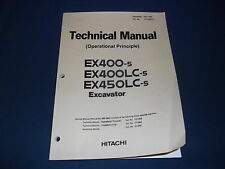HITACHI EX400-5 EX400LC-5 EX450LC-5 EXCAVATOR TECHNICAL SERVICE REPAIR MANUAL