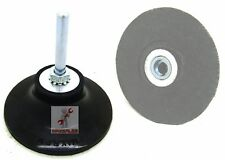"New 3"" Roll Lock Sanding Disc Pad Holder Polishing Mandrel 1/4"" Shank Roloc"
