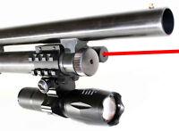 1000 lumens 3Watt LED Flashlight Red sight Kit For REMINGTON 870 12gauge
