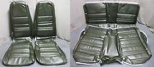 70 Mustang Fastback Bucket Seat Rear Upholstery Reproduction Medium Ivy Green