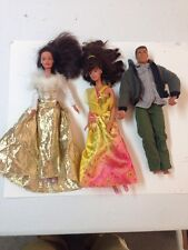 Lot Of 3 Vintage 1966 Barbie Doll Mattel Made In Indonesia Twist N Turn.