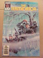 Terminator #6 NOW Comics 1988 Series 9.2 Near Mint- NEWSSTAND EDITION
