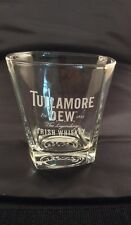 TULLAMORE DEW IRISH WHISKEY HEAVY GLASS TUMBLR - FREE UK POSTAGE