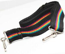 """Rainbow Neck Strap 48"""" For Nikon Canon Olympus Minolta Pentax Kodak Polaroid"""