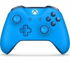 MICROSOFT Xbox One Wireless Controller - Blue - Currys