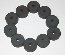 10 X Refrigerator Disk Magnets With Center Hole 05 Diameter 02 Thick