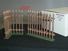 King and Country IC054 COLLEZIONE imperiale cinese FORT recinzioni in legno Set