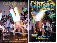 2 Dvd Set Brazilian Capoeria African Slave Martial Arts Master Sergipe