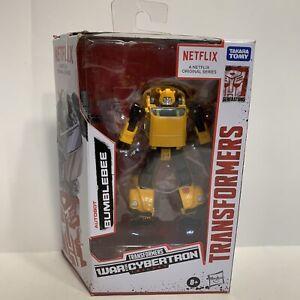 TRANSFORMERS Walmart Exclusive Netflix War for Cybertron Deluxe Bumblebee MISB🔥