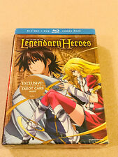 Funimation 'The Legend Of The Legendary Heroes' LE Blu/DVD Set Sealed New OOP