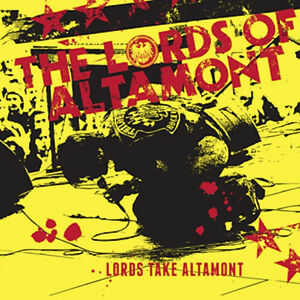 The Lords of Altamont CD 2014 Biker Rock and Roll MC5 Gearhead Records Cramps