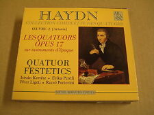 2-CD BOX ARCANA / JOSEPH HAYDN - COLLECTION COMPLETTE DES QUATUORS OEUVRE 2