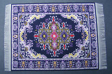 Escala 1:12 10cm X 15.5cm alfombra turca de tejido tumdee Casa De Muñecas Pequeña Alfombra P5s