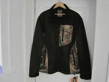 NWT Mens Trail Crest Performance 360 Black Camo Waterproof Jacket Rtl $112 Sz XL