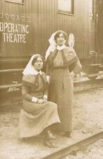 More details for wwi nurses - medals - train carriage operating theatre - overseas r.p. c.1915