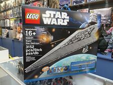Lego 10221 Star Wars Super Star Destroyer New Seal MIB
