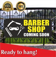 Barber Shop Banner Vinyl Mesh Banner Sign Flag Hair Cut Salon Beauty Shave