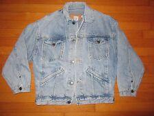 VTG 80s or 90s Calvin Klein Denim 4 Pocket Trucker Jacket Mens Size Small