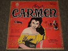 Bizet: Carmen~Jean Allain~Paris Opera Orchestra~Plymouth P12-52~Rare~FAST SHIP!