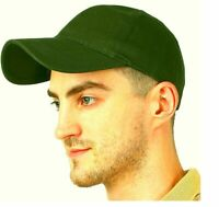 Solid Plain Baseball green Cap Trucker Army Blank Hat Ball Men Women Adjustable