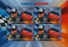 Tony Stewart & #14 CHEVROLET IMPALA Chevy NASCAR Race / Racing Car Stamp Sheet