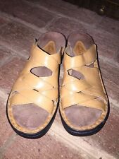CLARKS WOMENS GENUINE LEATHER CASUAL DRESS SANDALS LOAFERS CLOGS SHOES SIZE 6