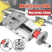 118MM Metal Cross Slide Block Z008M For Mini Lathe Feeding Relieving Axis Y/Z