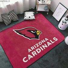 Arizona Cardinals Fluffy Floor Mat Living Room Non-Slip Floor Area Rug Carpets
