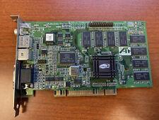 ATI RAGE 128 109-57400-31 1025740933 N625 VGA R128 Video Graphic Card PCI