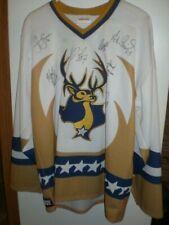 Vintage Signed ProJoy Laredo Bucks CHL Hockey Jersey Mediuim PERSONALIZED SOTO