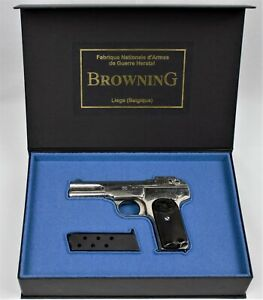 PISTOL GUN PRESENTATION CUSTOM DISPLAY CASE BOX for BROWNING m 1899 / 1900