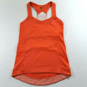 Bontrager Womens Size Small Fitted Orange Tank Top Cycling Outdoor Vella Jersey