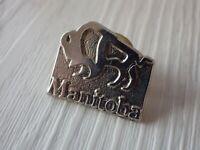 Pin's vintage épinglette Collector publicitaire MANITOBA Lot V049