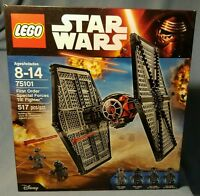 Lego Star Wars Force Awakens First Order Special Forces Tie fighter LEG75101