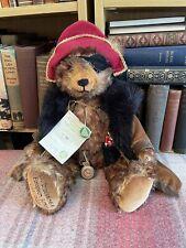 Hermann Teddy - Mr Drosselmeyer Bear -Limited Edition - Label - Mohair - Vintage
