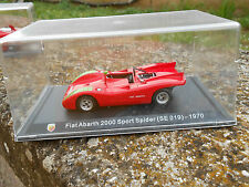 DIE CAST FIAT  ABARTH 2000 SPORT SPIDER SE 019 1970 SCALA 1/43