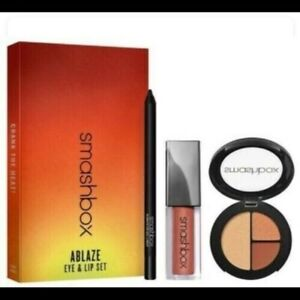 Smashbox Ablaze Eye & Lip Set 3 PC. Set Brand New In Box