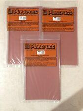 3 Pack Plastruct 91651 PS-125 O Scale/1:48 Scalloped Edge Tile 2 Pcs New Plastic