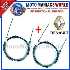RENAULT MASTER 3 MK3 OPEL MOVANO 2010- FRENO DE MANO TRASERO Cable Original x2