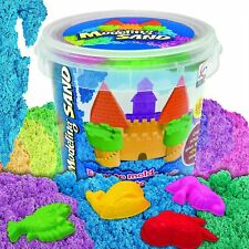 Kaiyuan Dynasty Kinetic Play Sand Moldable Beach Magic Sand Set Colored Play +