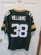 GREEN BAY PACKERS TRAMON WILLIAMS JERSEY MEN'S SZ 52 NFL REEBOK ONFIELD SEWN 46