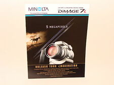 Minolta Dimage 7i sales brochure