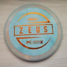 Discraft Esp Zeus Driver Teal Orange Swirl with Orange Scratch Foil 173-174g